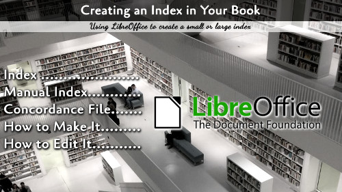 Creating an Index in LibreOffice