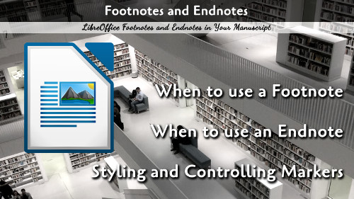 Footnotes and Endnotes in LibreOffice