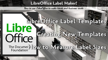 LibreOffice Labels
