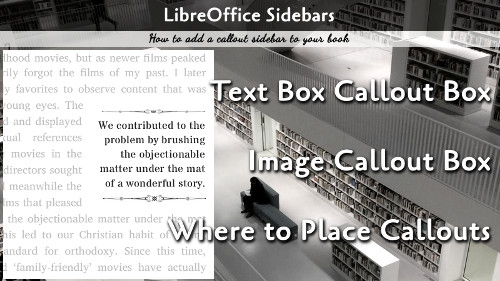 Callout Sidebars on LibreOffice